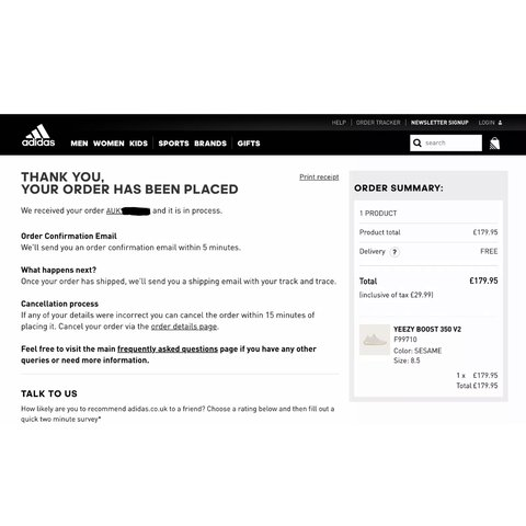 promo code quality design great deals ADIDAS YEEZY 350 V2 SESAME SOLD OUT WORLDWIDE will... - Depop