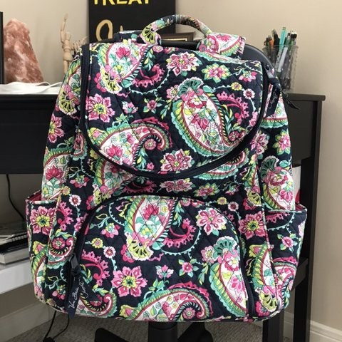 216397213b  vamaya93. 5 months ago. United States. The cutest Vera Bradley patterned  backpack!