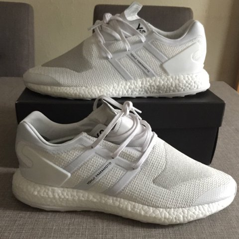 421027edc208 Adidas Y3 Pure boost in Triple White These are UK size 12