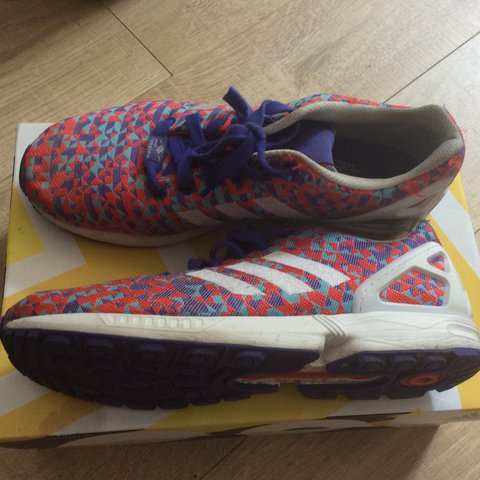 f324c9ed1 Adidas ZX Flux (limited ed) prism colour