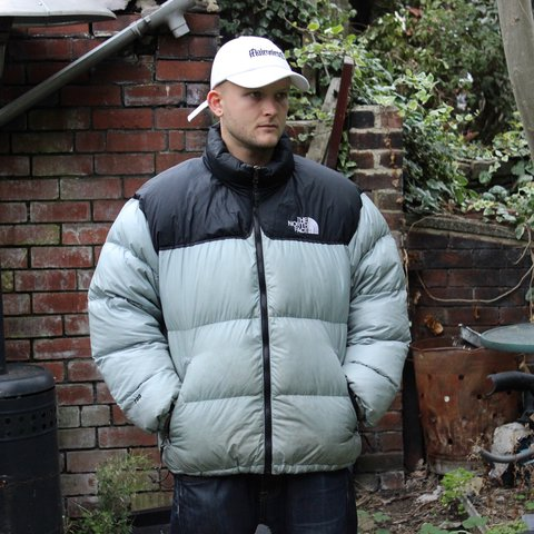 8d3d23fd9b The North Face old school special edition Nuptse jacket in a - Depop