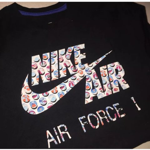 ac7ca986 @janenx. last year. England, UK. NIKE AF1 TSHIRT- cool basketball print  vintage sports graphic tee, loose fit never worn so great condition