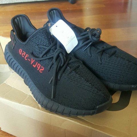 287c6e37892ae Adidas yeezy boost 350 v2 bred colour. Never been worn brand - Depop