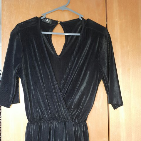0361b12a1523 Black crinkly culotte jumpsuit. Worn a handful of times