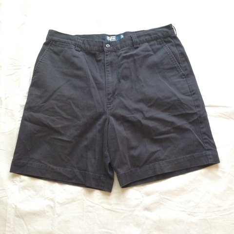5b803661f Men s Size 36 Polo Ralph Lauren Philip Short Navy Blue Chino - Depop