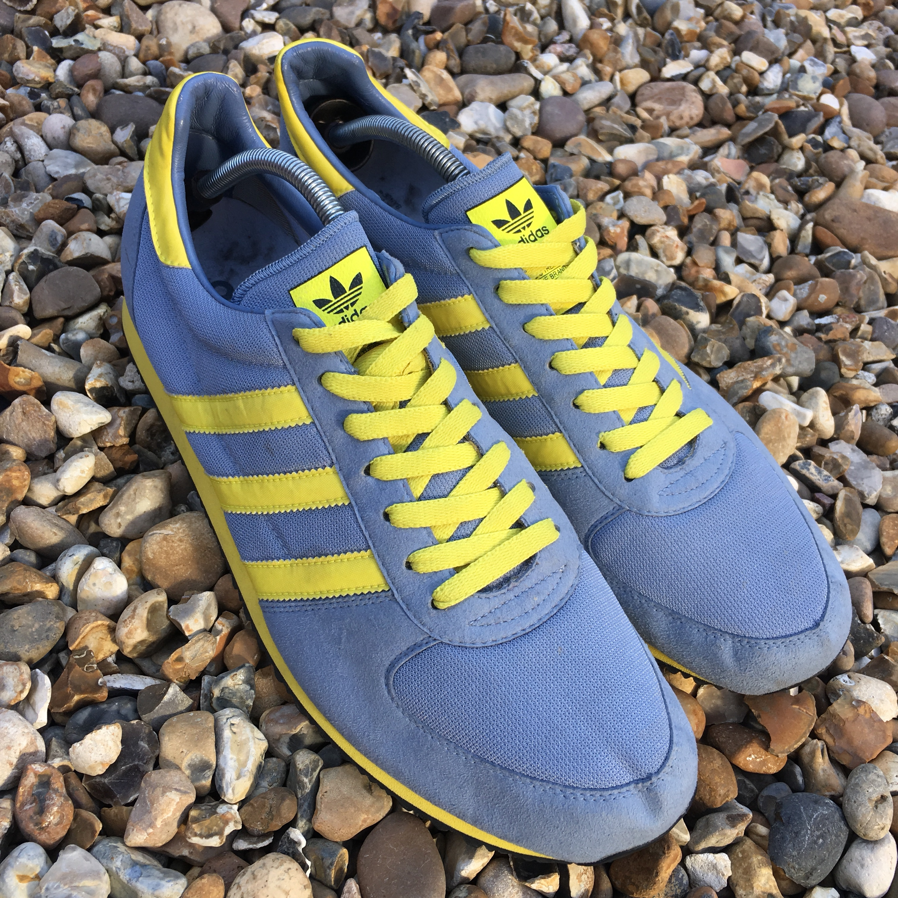 Men's Adidas Trainer Blue/Yellow Size 12. Trainers...