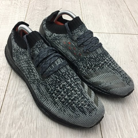 a8ff5d8ab96a8 Adidas Ultra Boost Uncaged Ltd Grey Size 7. Trainers have in - Depop