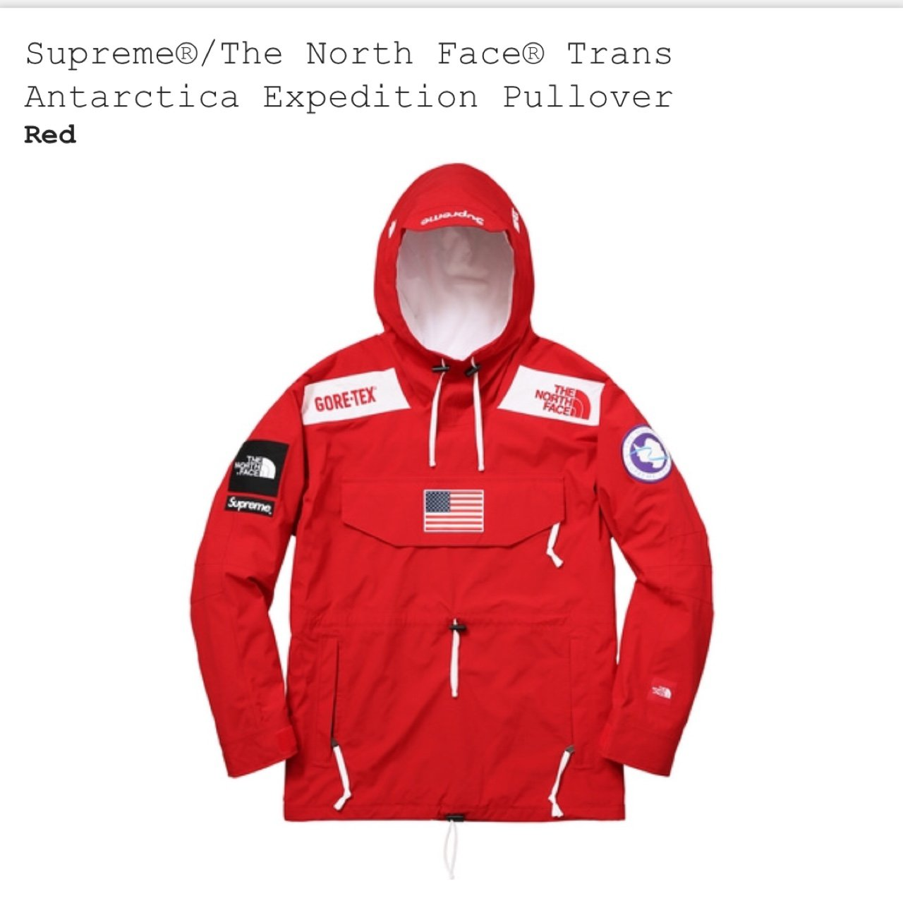 Linhtran2804 2 Years Ago Fairfax Va Usa Supreme X The North Face Pullover Jacket Red