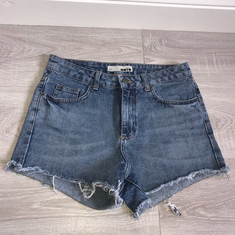 3664a448de Topshop Moto shorts. Size: W28 71cm. No refunds or #shorts - Depop