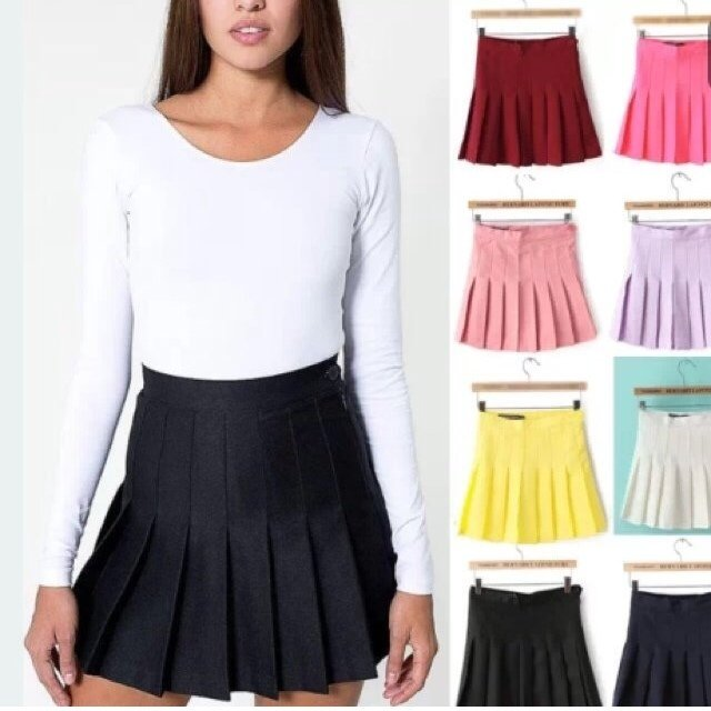 6409fc7d42 🍇🐝AMERICAN APPAREL REPLICA/DUPE/FAKE PLEATED TENNIS SKIRT - Depop