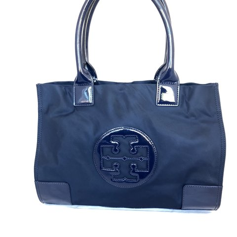 a0be37864 @femmetreschic. 11 months ago. San Diego, United States. Tory Burch Ella  Mini Nylon Tote Bag In French Navy