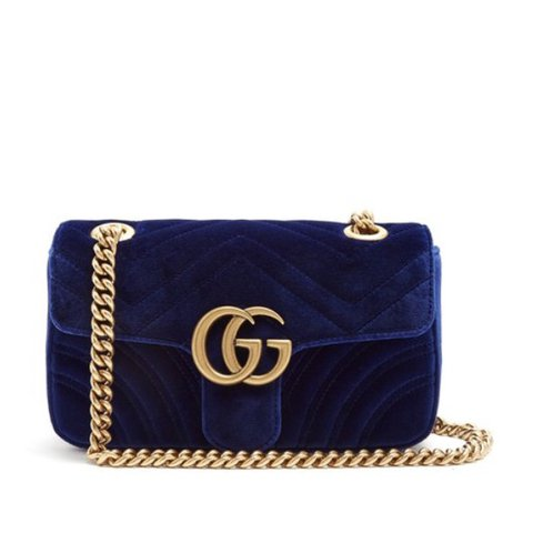 036cbfcb4d55a8 ON HOLD FOR EMILY/ DONT BUY Gucci Marmont mini quilted cross - Depop