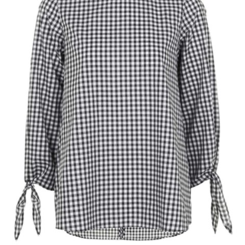 9565042c55ea2c Topshop gingham shirt size 8. Immaculate