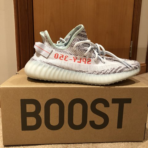 """82d40362a Adidas Yeezy Boost V2 """"blue tint"""" UK8.5 DSWT and receipt in - Depop"""