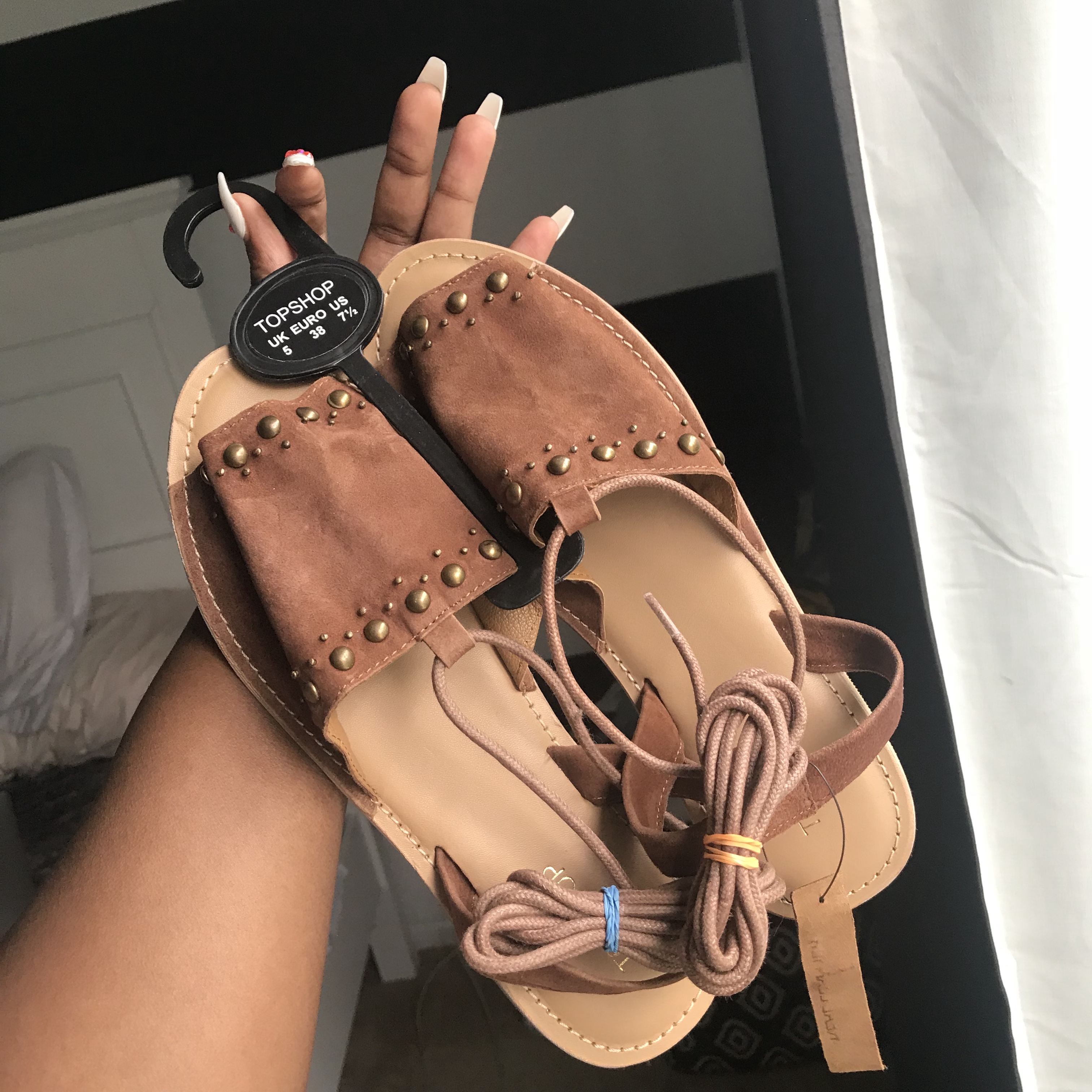 purchase cheap amazing selection website for discount TOPSHOP - Hope Studded Sandal - studded sandals in ...