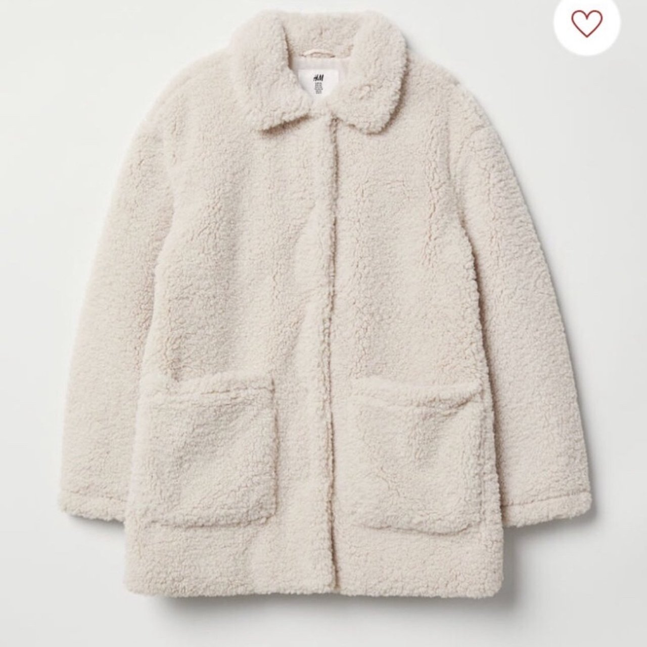 Hm Kids Cream Coat Age 14 Will Fit Sizes 6 10 Depending On Depop