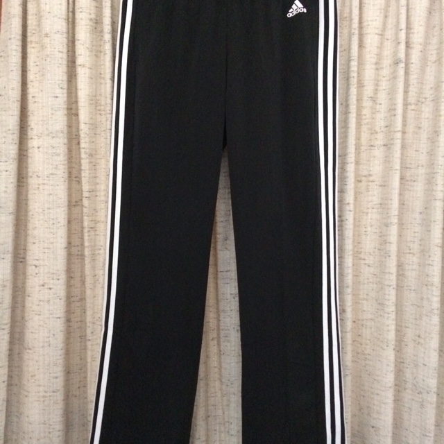 Adidas 3 Stripe Track Pants, size: large, color: Depop