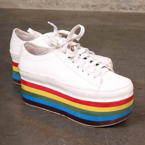 Platform Jeffrey Campbell ShoesSize 5Depop Rainbow 7 3JFK1Tlc