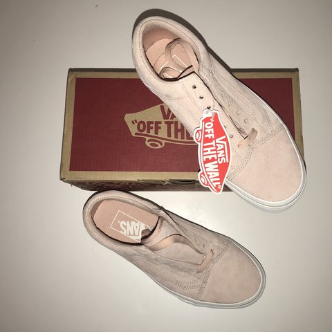 ceed7773bee9 Vans Pig Suede Light Pink Brand New