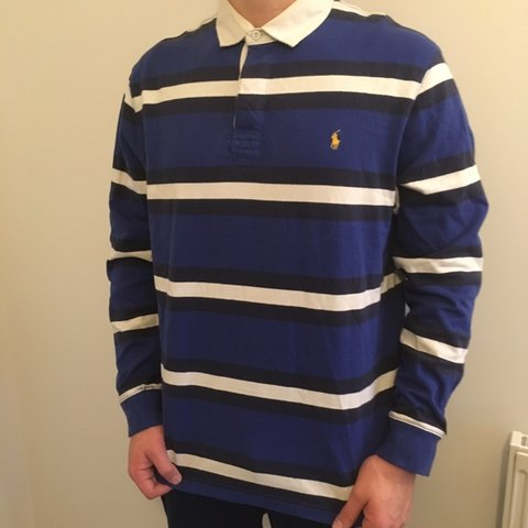 a004cb4af Selling fast atm the Ralph Lauren rugby shirts are a good to - Depop