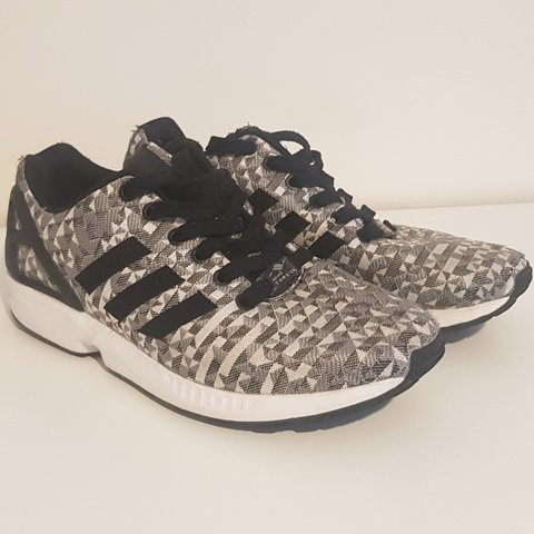 new styles 3d281 09491  tdc41. 2 months ago. Bath, Bath and North East Somerset, United Kingdom. Adidas  ZX Flux Weave Black White Grey