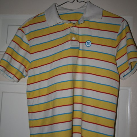 225f300eb955 Tyler The Creator Stripped Polo Tee From The Original Bought Depop