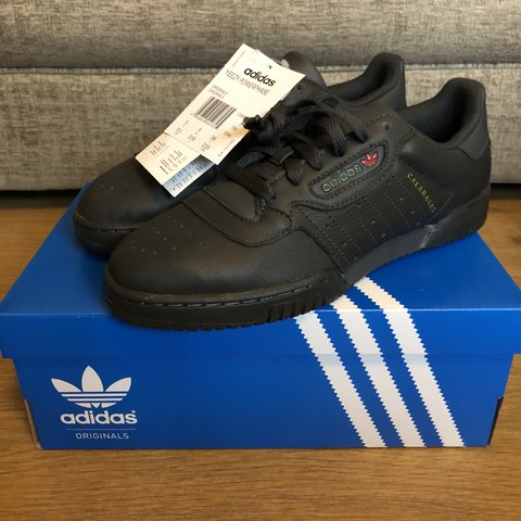 cb9201a94eb Item  BNWT Adidas Yeezy Powerphase Calabasas in Core UK 5 • - Depop