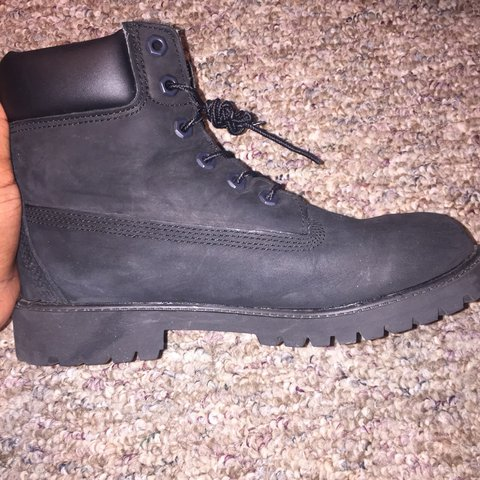All Black Nubuck Timberland Boots Bought These For My Depop