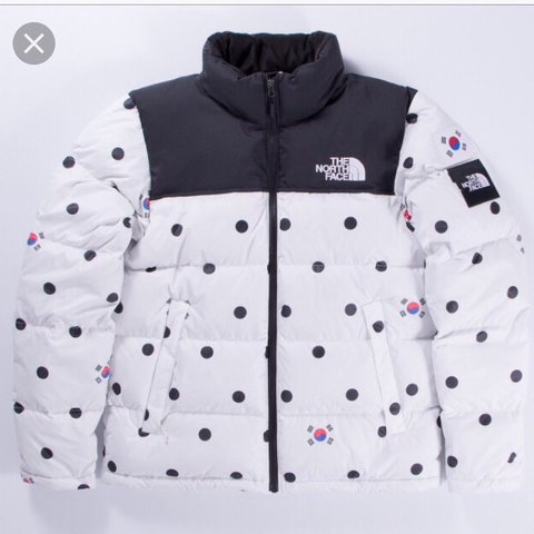North Face international collection South Korea nuptse Only - Depop ffa4ade48