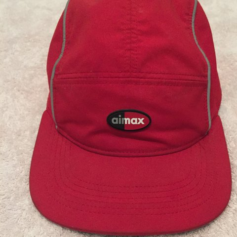 10bc6d3456a where to buy supreme nike air max running hat 9ead3 f7aaa  promo code  nikelab x supreme air max 98 aw84 red camp hat 5 9 10 nike