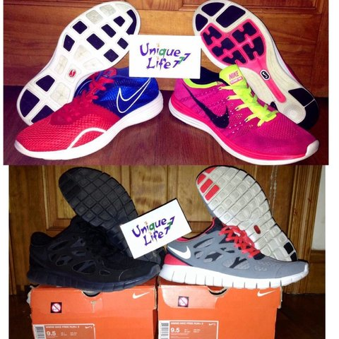 2122d59d50c1c Nike Women s Running Shoes 4 Pair PACK! (US buyers only - be - Depop