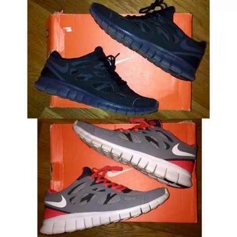 1ba3d0c073a8 Nike Air Free Run +2 (2 Pair Pack). These shoes are 100% and - Depop