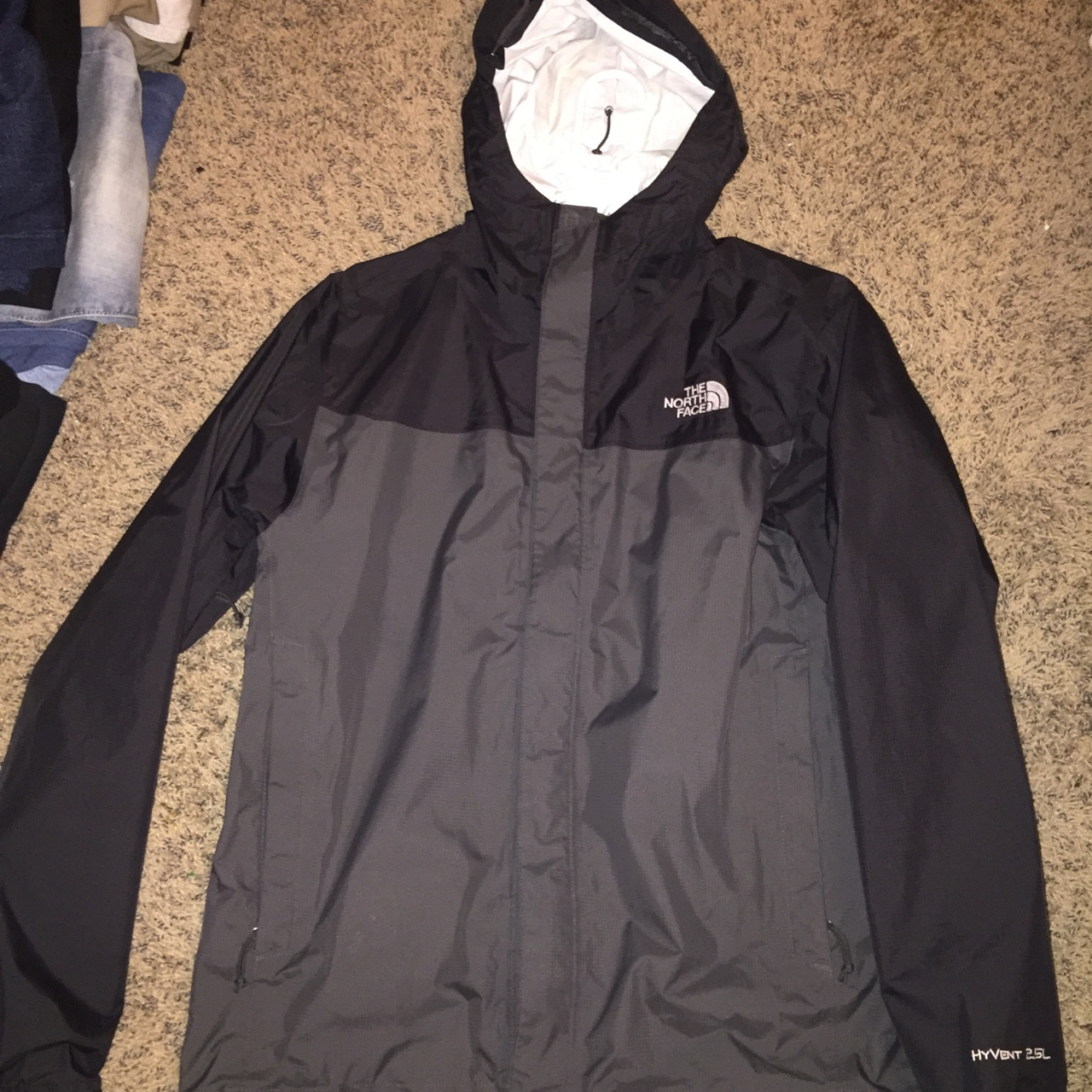 f73aa48bc The North Face Hyvent 2.5L Hooded Jacket Windbreaker... - Depop
