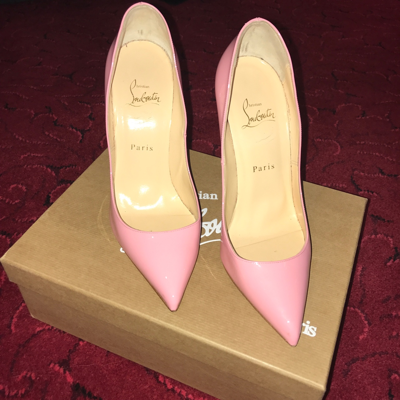Baby Pink Pigalle Christian Louboutin