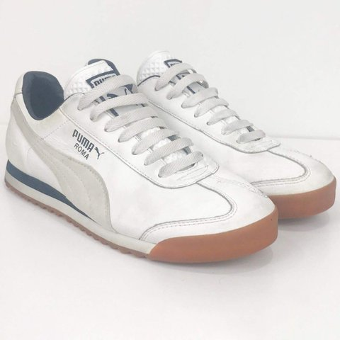 ae387887ae80 DO NOT PURCHASE ITEM IS SOLD    Puma Roma Classic White - Depop