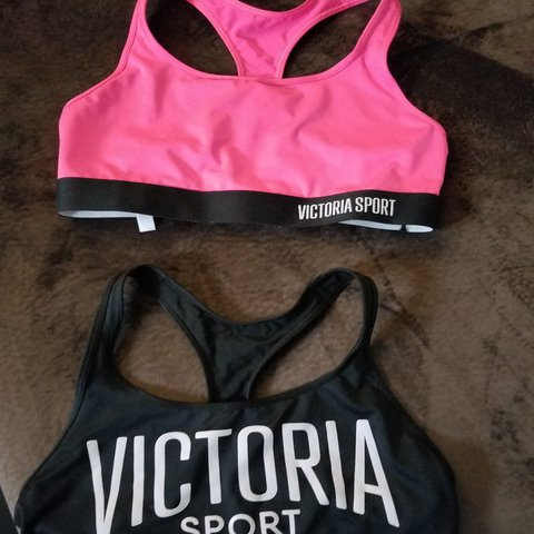 66f861a52 LOT of 2 NWT Victoria s Secret The Player Sports bras. Size - Depop