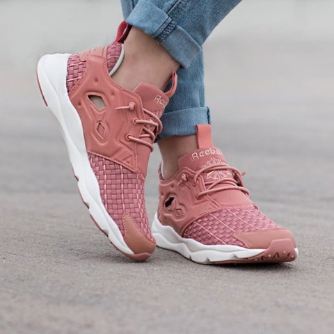 reebok furylite new woven women sneakers Amazing shoe only - Depop e620ea927