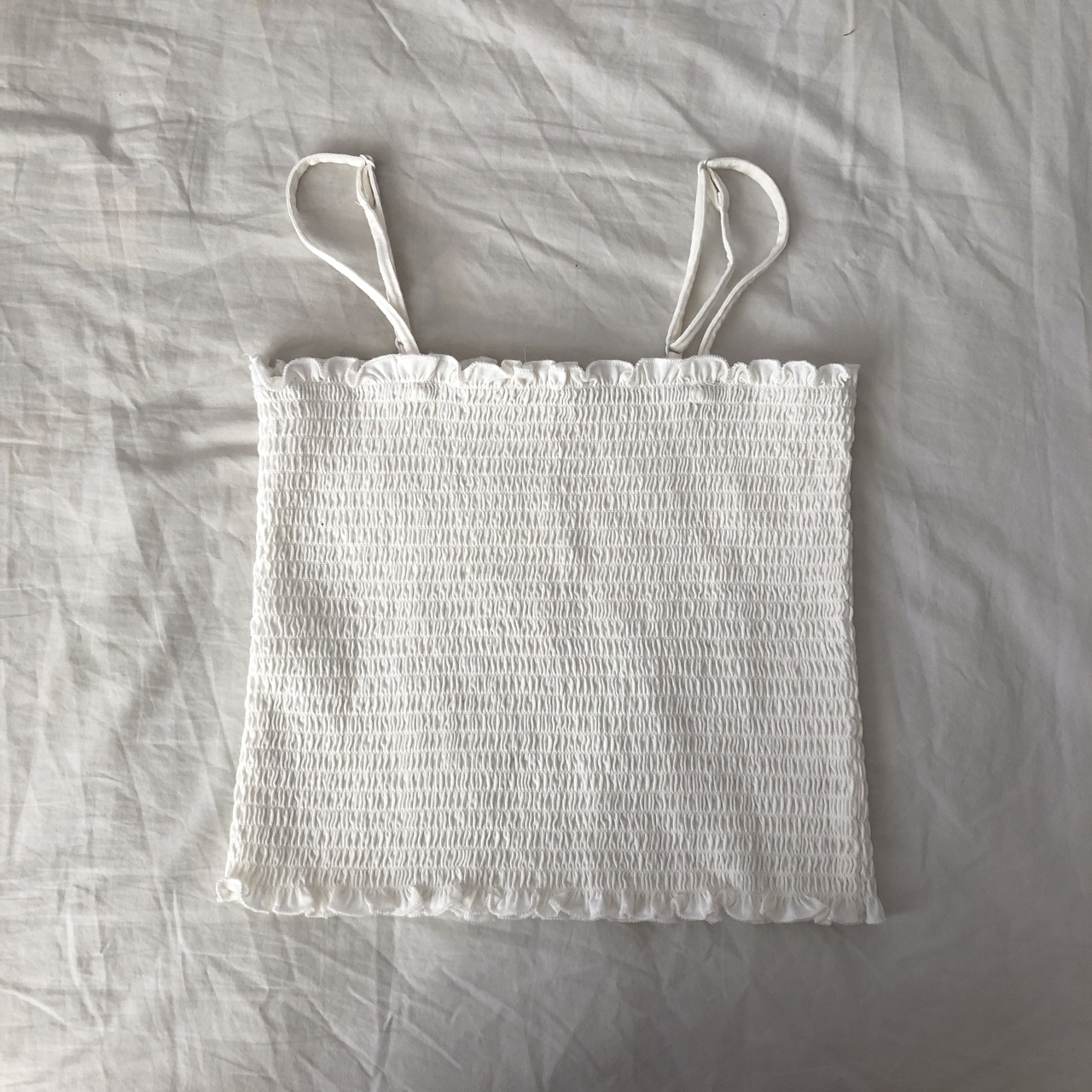 On Hold For Relagrab05 Brandy Melville White Ally Depop