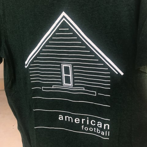 american football band tee size medium material has that of depop