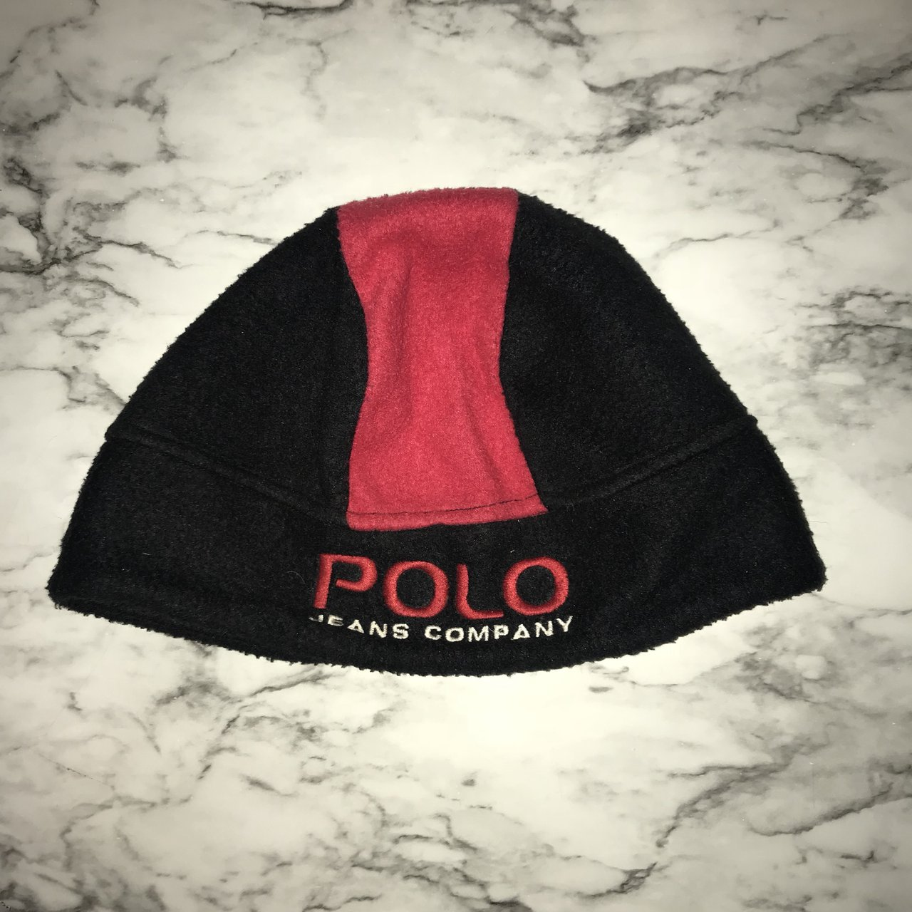 26806d7fe66 90 s Polo Ralph Lauren jeans winter hat One size fits all - Depop
