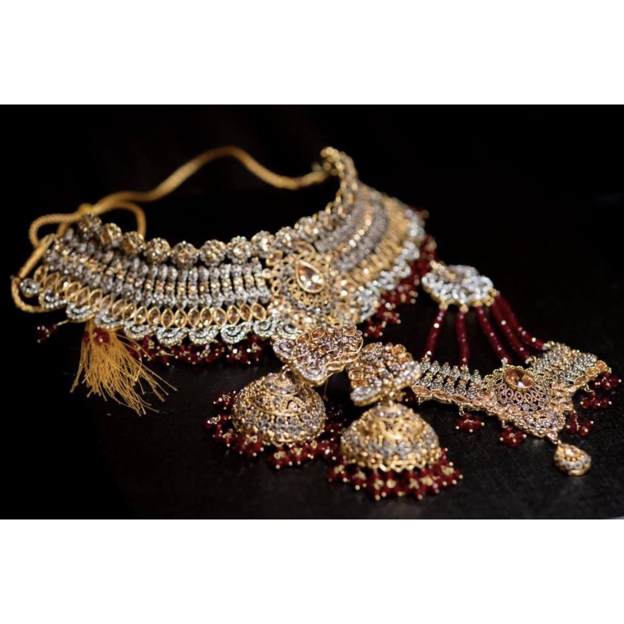 Indian Style Bridal Jewellery Worn For A Few Hours Depop
