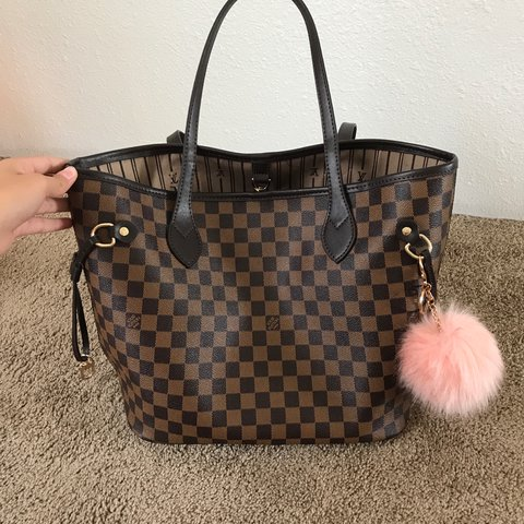 LOUIS VUITTON NEVERFULL MM ( REPLICA) never used and comes a - Depop 3188cbd9c7006