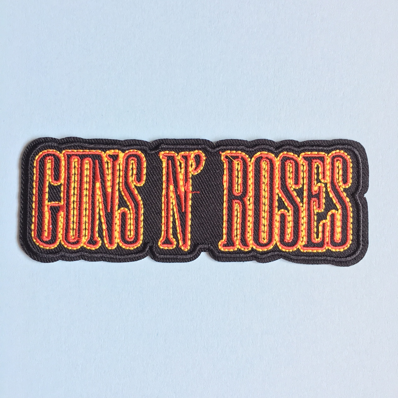 Large Guns N' Roses iron on sew on patch. Perfect Depop