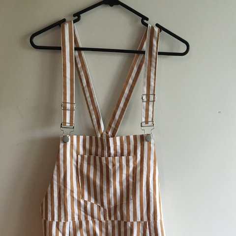 cec0cb3bd80b Brand new with tags!! Super cute overalls from Princess only - Depop