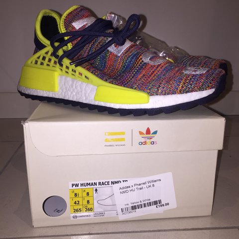 622f12e0b RETAIL!! Adidas x Pharrell Williams NMD HU Trail UK8