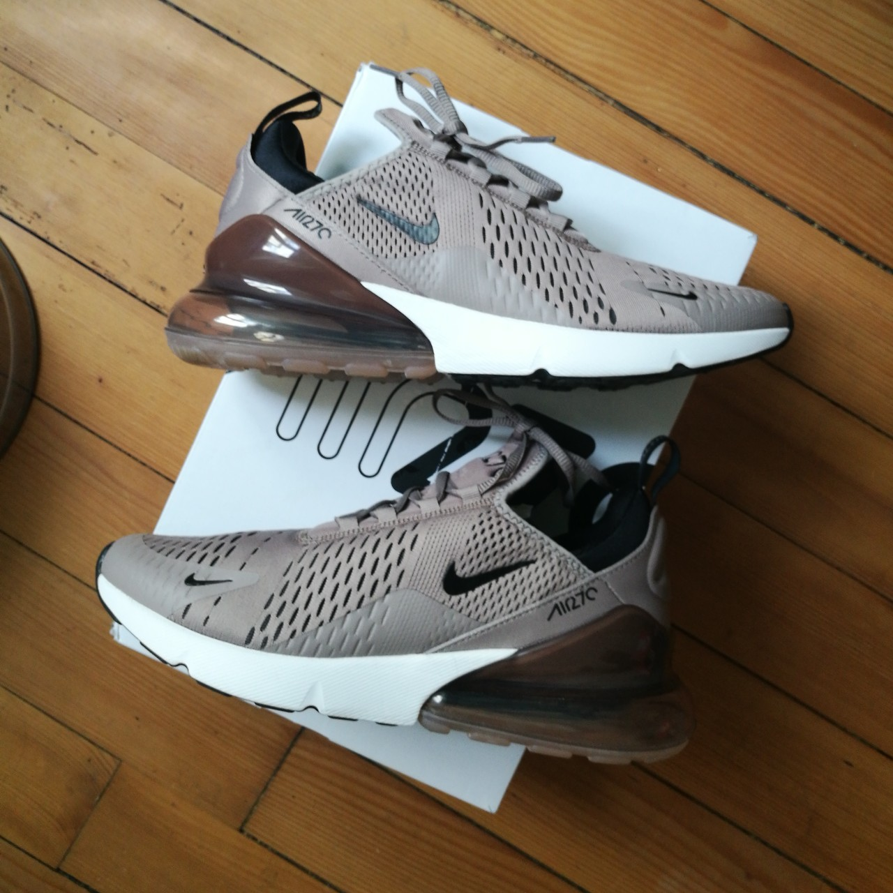 premium selection c6491 1e7ed Air Max 270 Footlocker Exclusive VNDS used just for... - Depop