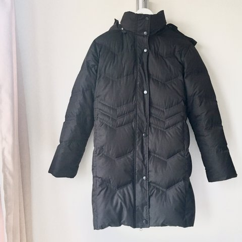 0bde31602179 Black puffer jacket. Filled with 80% Down