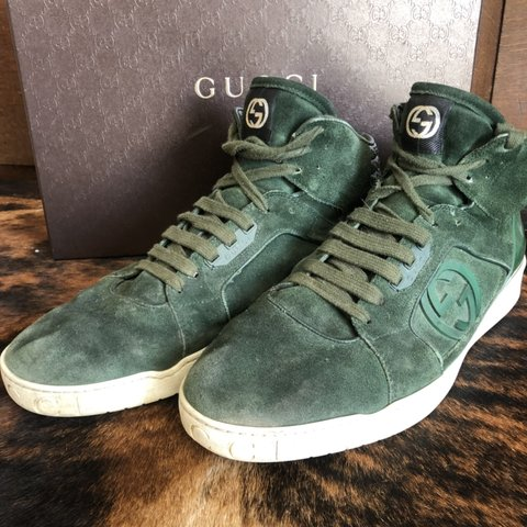 4410ae3ca7d Gucci Hightop s 💯% Authentic Gucci shoes 💥Comes With Are - Depop