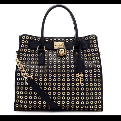 ee2fda38848603 @jitzel. 7 months ago. Lawton, United States. Michael Kors Grommet Limited  Edition Hamilton Tote