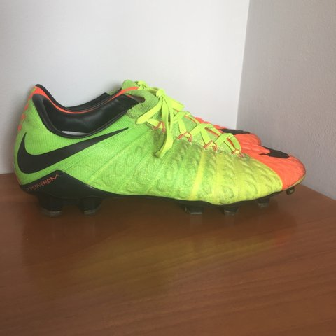 d73f087eb0a Nike Hypervenom 3 football boots. Size 8. Worn but have of I - Depop